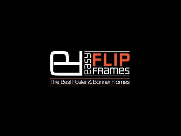 easy flip frames logo design g7 studios