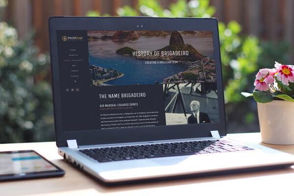 treats brazil history website design g7 studios