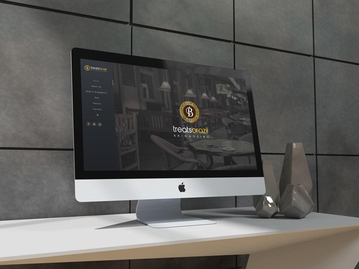 treats brazil web design logo branding g7 studios