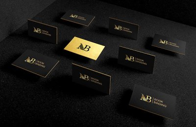 nb bookbinding business card branding design g7 studios
